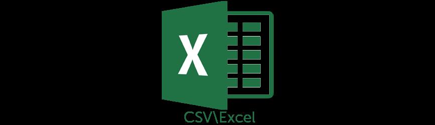 CSV\Excel